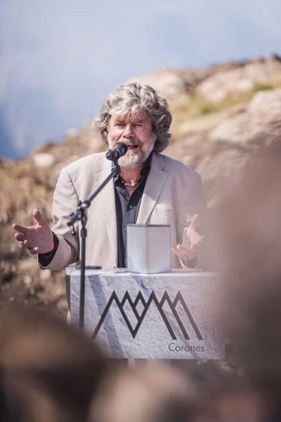 Hat in den Wochen vor der Eröffnung viele neue graue Haare bekommen: Reinhold Messner
