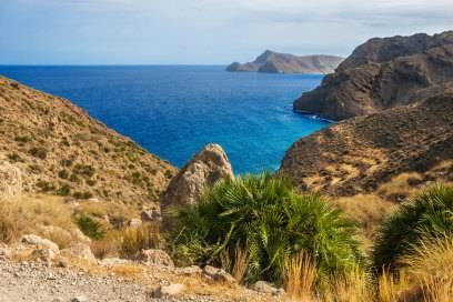 Wandern mit Meerblick: Im Naturpark von Cabo de Gata