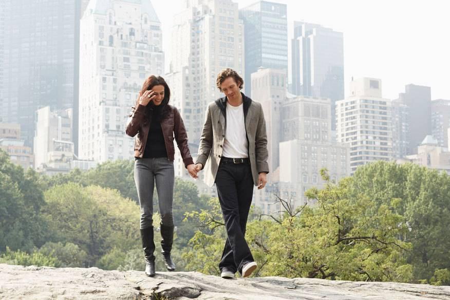 Romantischer Abend in NYC