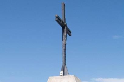 Ein Viertausender für Anfänger: Das Gipfelkreuz des Allalinhorns lässt sich im Rahmen einer Tagestour erreichen