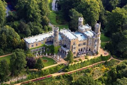 Erbaut wurde das Schloss Eckberg Mitte des 19. Jahrhunderts