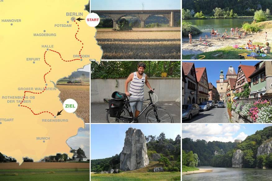 Offline durch Deutschland: Im letzten Teil seiner Radtour erlebt unser Autor ein Auf und Ab