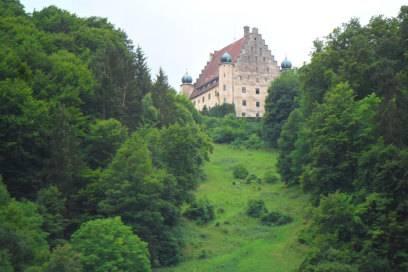 Schloß Obereggersberg nahe Riedenburg