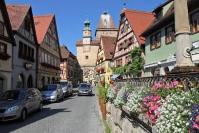 Die Innenstadt von Rothenburg