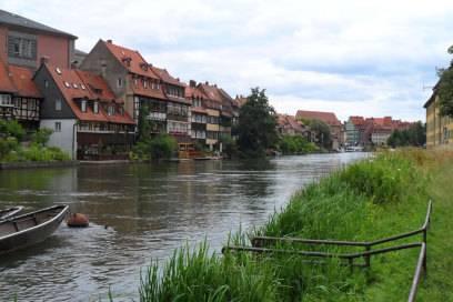 Die durch Bamberg fließende Regnitz