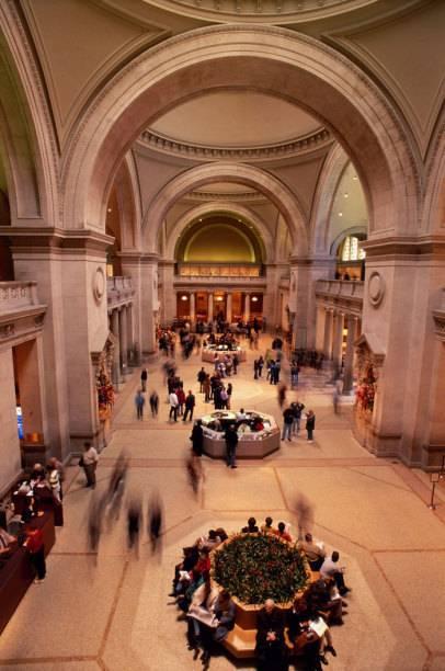 Imposant: die Empfangshalle des Metropolitan Museum of Art