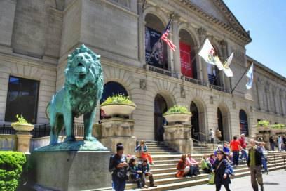 Eingangsbereich des Chicago Art Institute