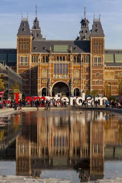 Das Rijksmuseum in Amsterdam