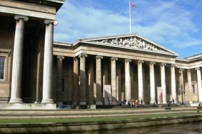 Altehrwürdiges Gebäude: das British Museum in London