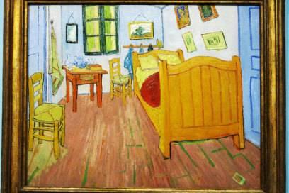 """""""Vincents Schlafzimmer"""" lautet der schlichte Titel dieses Van-Gogh-Gemäldes"""