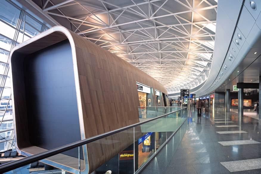 Der Züricher Flughafen taucht in verschiedenen Rankings regelmäßig ganz oben auf