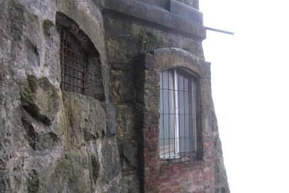 Aus diesen Fenstern blickte einst die High Society herab