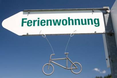 In jedem fünften Apartment inklusive: das Fahrrad für die mobile Erkundung des Urlaubsortes
