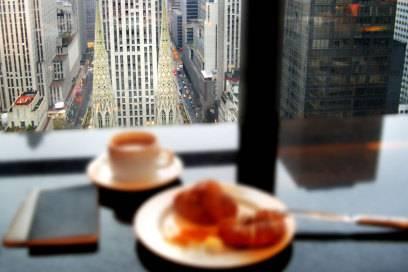 In New York spart man im Schnitt 15,10 Euro, wenn man nicht im Hotel, sondern im Restaurant frühstückt