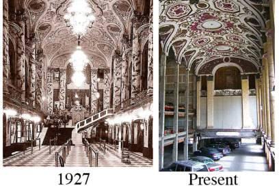 Der Vergleich: 1927 und heute