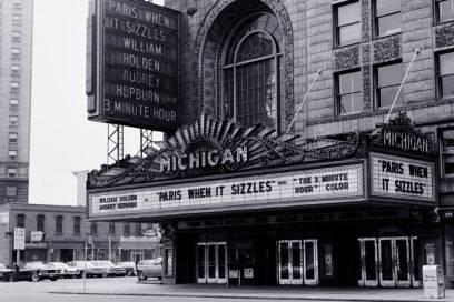 Im Michigan Theatre wurden früher Filme gezeigt und Konzerte gespielt