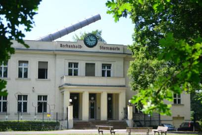 Sorgte auf der Gewerbeausstellung einst für Furore: das Riesenfernrohr der Archenhold-Sternwarte