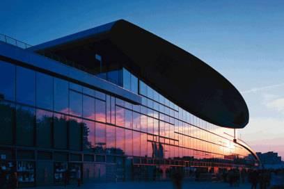 Wurde für Olympia 2000 gebaut, steht aber nicht in Sydney: die Max-Schmeling-Halle im Prenzlauer Berg