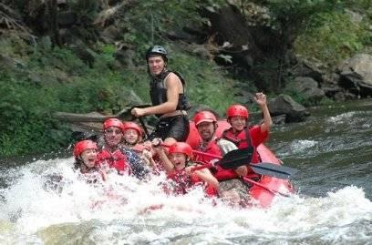Wildwasser-Rafting in den Smoky Mountains