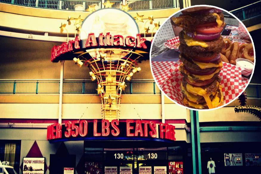Acht Stockwerke hoch ist kalorienreichste Burger der Welt