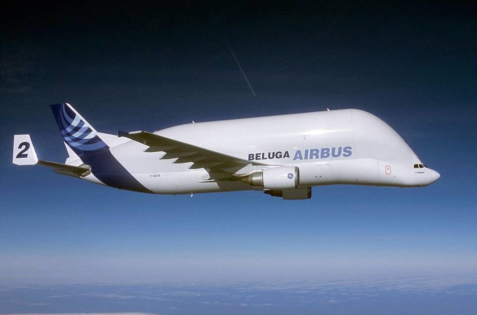 airbus beluga a300 600st dieses flugzeug hat flugzeuge. Black Bedroom Furniture Sets. Home Design Ideas