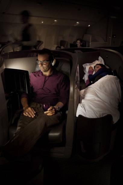 Auch in Sachen Business Class top: Air New Zealand