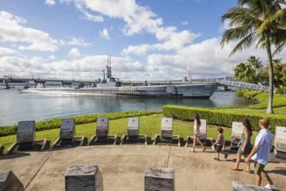 Pearl Harbor ist eines der Top-Ausflugsziele auf Hawaii – für Kinder ist die Geschichte des japanischenAngriffs aber nicht gerade geeignet.