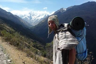 Der Gratis-Profi brachte als Lastenträger das Gepäck von Touristen nach Machu Picchu. Dafür sah er sich die Ruinenstadt kostenlos an