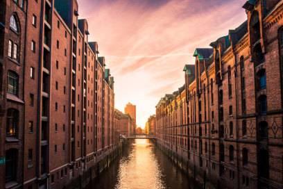 Ein Highlight: die Speicherstadt in Hamburg