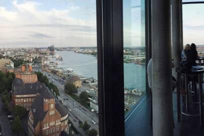 Blick aus der 20up im Empire Riverside Hotel