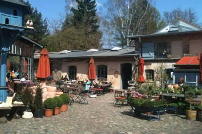 Das Café Mutter Fourage liegt versteckt in Wannsee