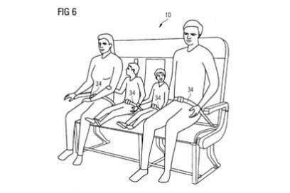 Familien mit zwei Kindern hätten auf der Sitzbank Platz. Bei größeren (oder breiteren) Menschen wäre vermutlich nur für zwei Platz.
