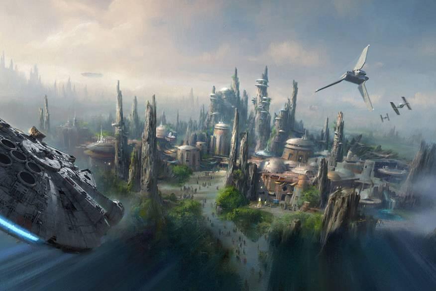 So spektakulär werden die neuen Star-Wars-Parks