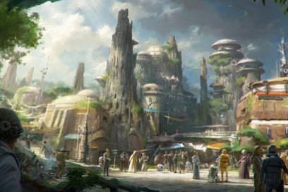 In der Star-Wars-Galaxie werden die Besucher natürlich auch den Charakteren aus dem Heldenepos von George Lucas begegnen