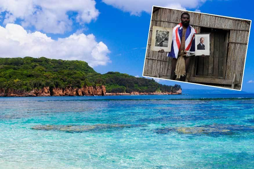 Die Yaohnanen auf der Südseeinsel Tanna verehren Prinz Philip als Gottheit