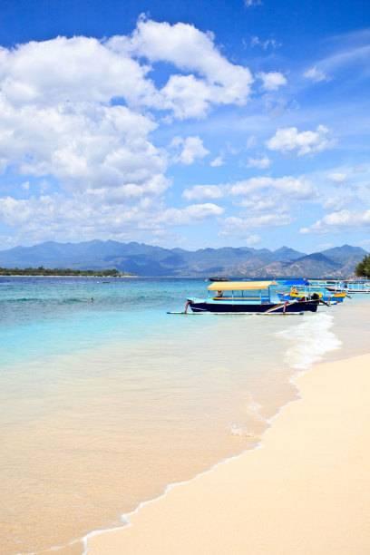 Gili Trawangan ist eine der vorgelagerten Inseln, auf die sich der Tourismus auf Lombok bisher konzentriert