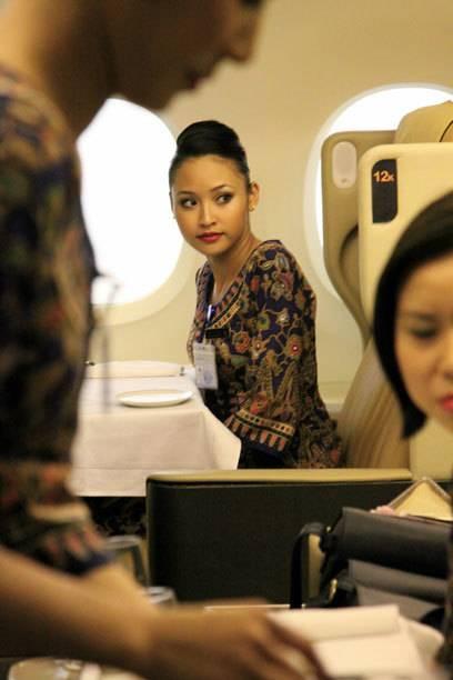 17 Wochen dauert die Ausbildung für Flugbegleiter