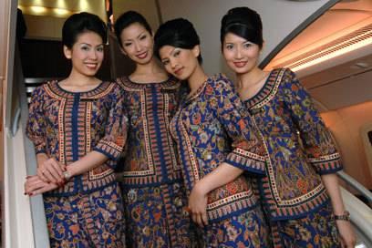 Es gibt strenge Vorschriften, was das Aussehen der Singapore Girls angeht