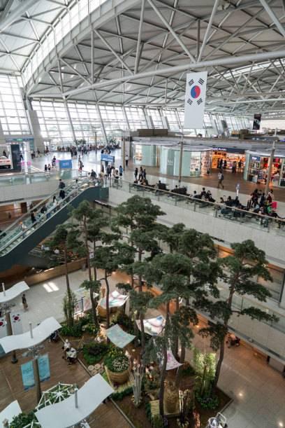 Der Flughafen Incheon in Südkorea findet sich in vielen Airport-Rankings unter den oberen Plätzen wieder – so auch dieses Mal