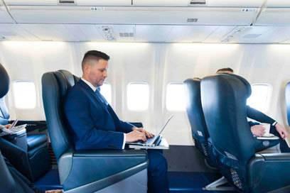 Die neue Ryanair-Luxusmaschine bietet auch viel Beinfreiheit