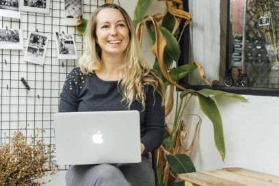 Carina Herrmann betreibt den Blog Pink Compass