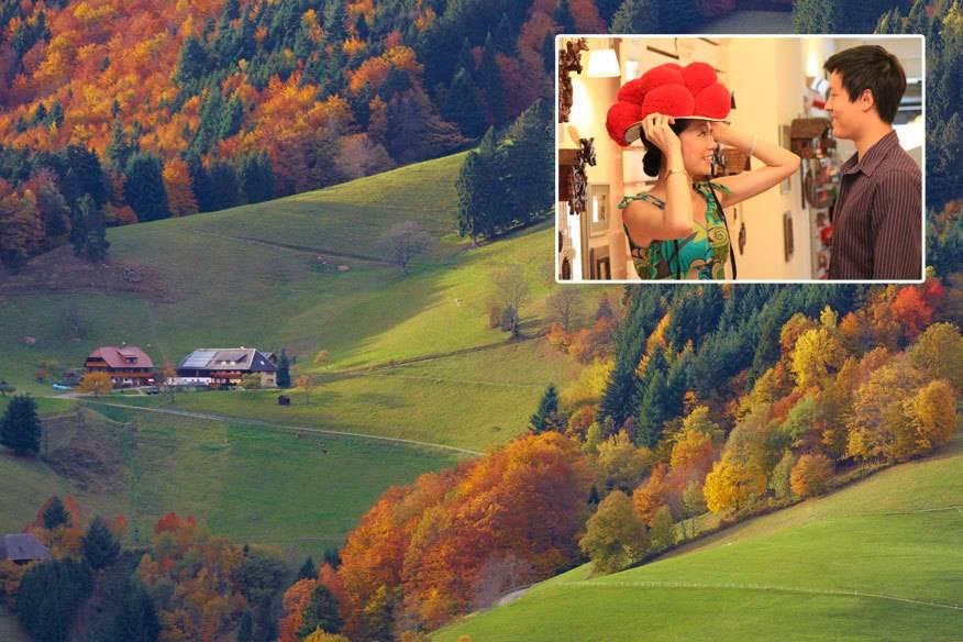 Berghänge mit schmucken Häusern: Das lieben Touristen am Schwarzwald