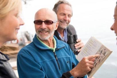 Besonderes Merkmal von Expeditionskreuzfahrten: An Bord sind meist erfahrene Lektoren und Experten – wie hier bei Hapag-Lloyd Kreuzfahrten
