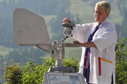 Die Messstation Oberjoch misst Pollen und Schimmelpilzsporen in der Luft
