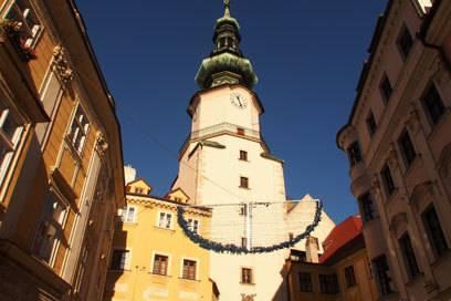 Das Michaelertor ist eines der Wahrzeichen von Bratislava und darf bei keiner Stadtbesichtigung fehlen