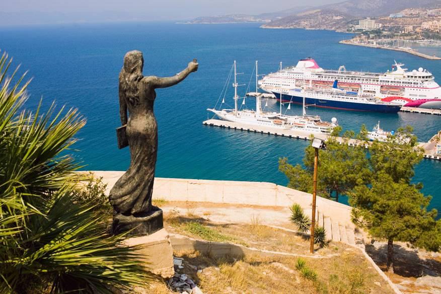 Viele Reedereien meiden die Türkei zurzeit. Im Foto: die antike Stadt Ephesus an der türkischen Westküste