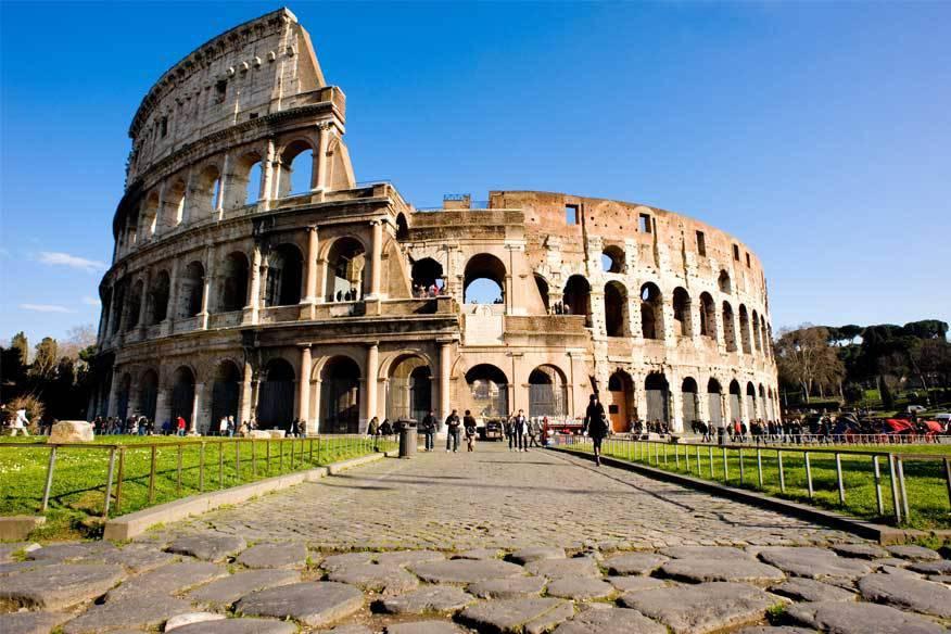 Das Kolosseum in Rom ist eines der am meisten fotografierten Bauwerke der Welt