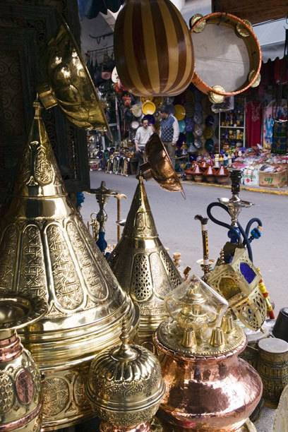 Traditioneller Souk in Casablanca