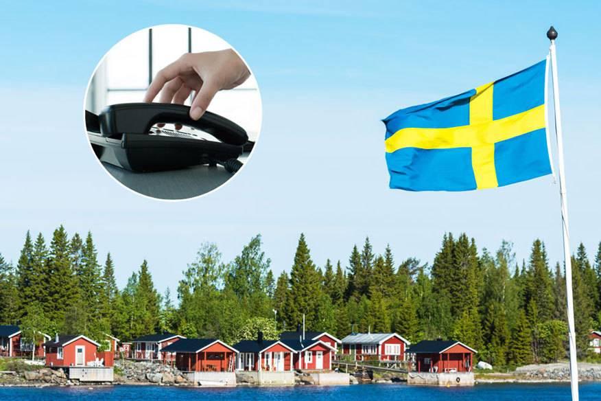 Schweden hat jetzt eine eigene Telefonnummer – bei Anruf geht irgendeiner aus dem Land dran