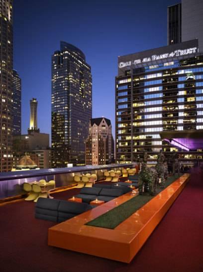 Ein Party-Hotspot von Downtown Los Angeles: The Standard